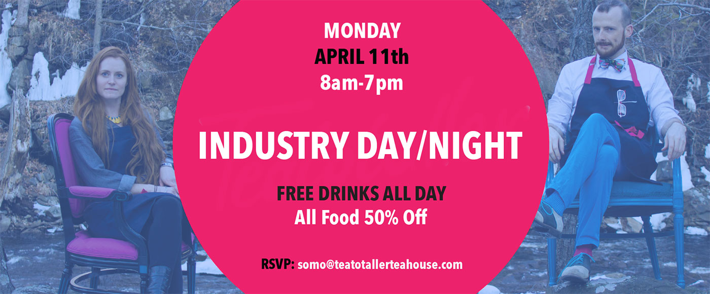 Teatotaller event: Industry Day / Night
