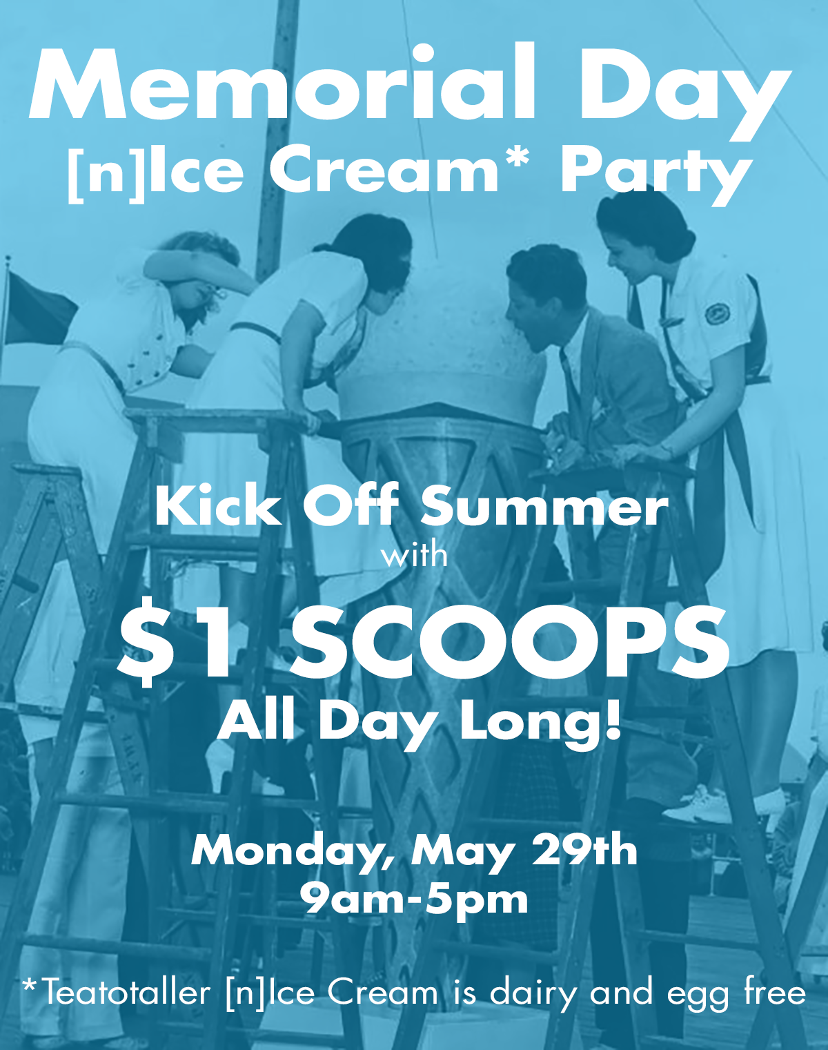 Teatotaller event: Memorial Day [n]Ice Cream Party!