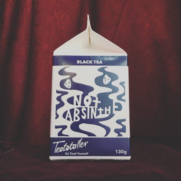 Not Absinthe tea carton