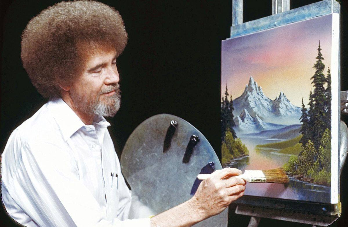 Teatotaller event: Drink + Draw w/ Maggie Green: Bob Ross!