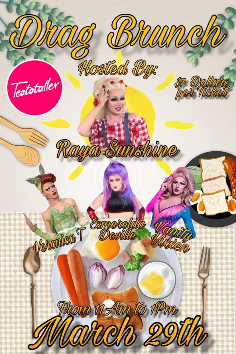 Teatotaller event: Drag Queen Brunch!