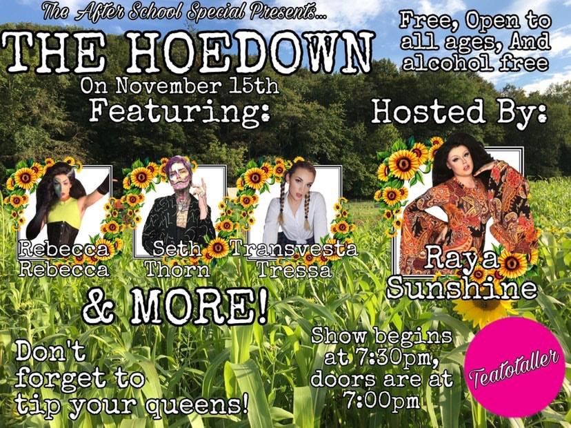 Teatotaller event: After School Special: Teen Drag Queen Show!