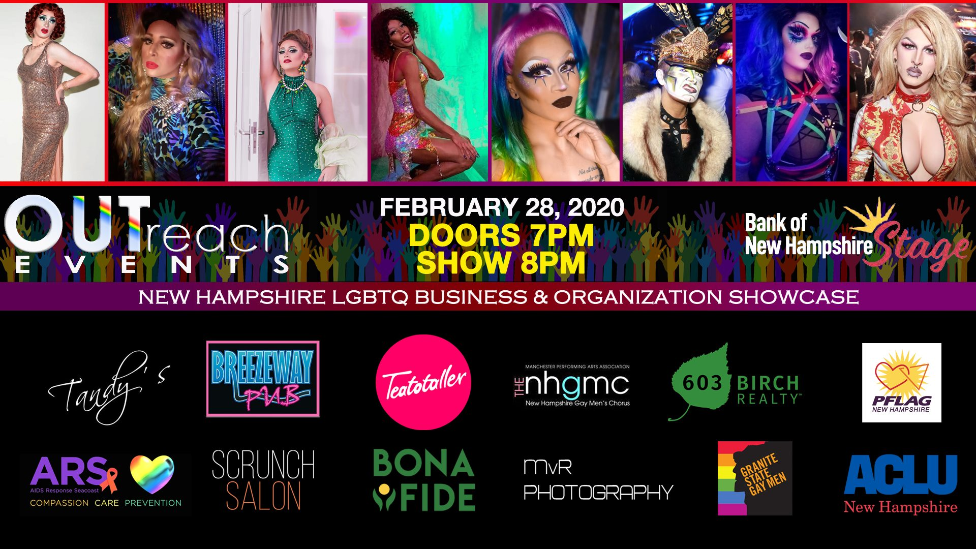 Teatotaller event: NH LGBTQ+ BUSINESS + ORGANIZATION SHOWCASE