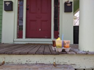 doorstep boba delivery